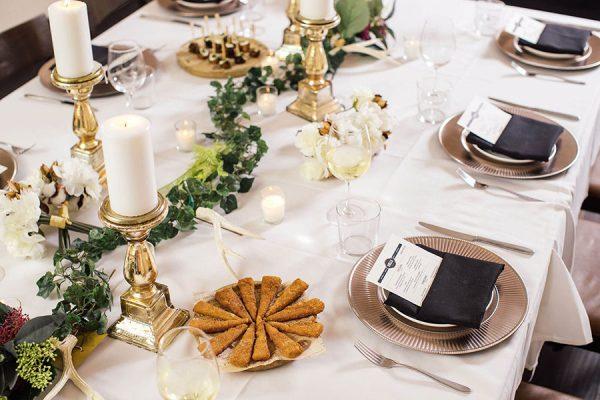 Image of set table at Bulla Restaurant