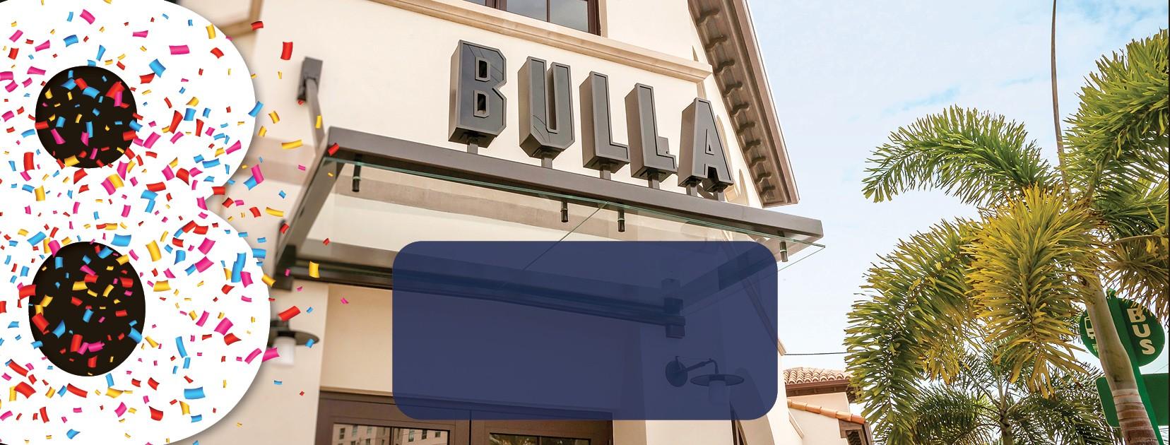 Bulla Coral Gables 8-year Anniversary