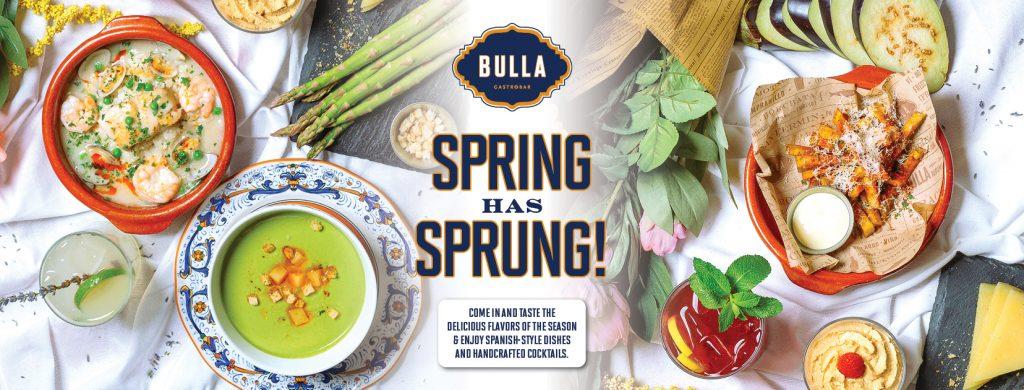 Bulla Spring Menu