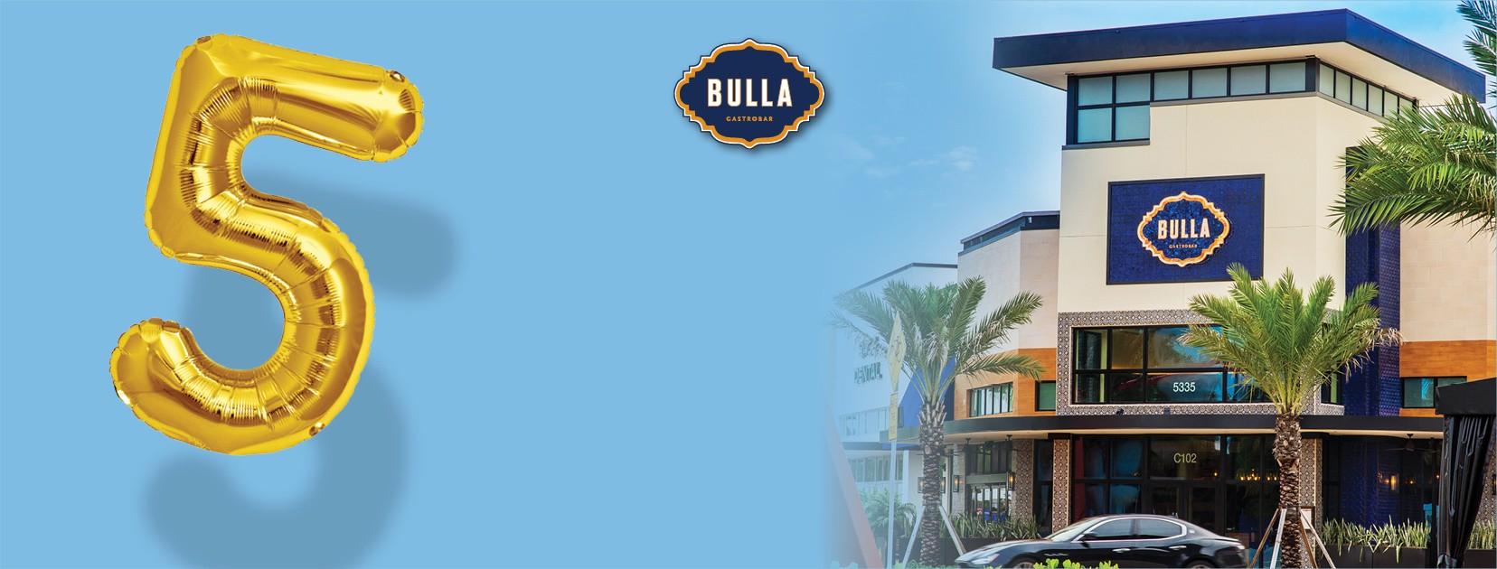 Bulla Doral Fifth Anniversary