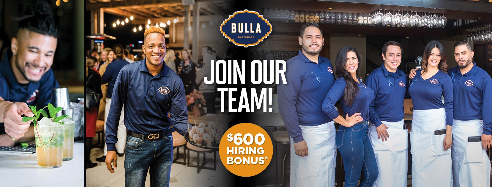 Join Our Team, $600 Hiring Bonus