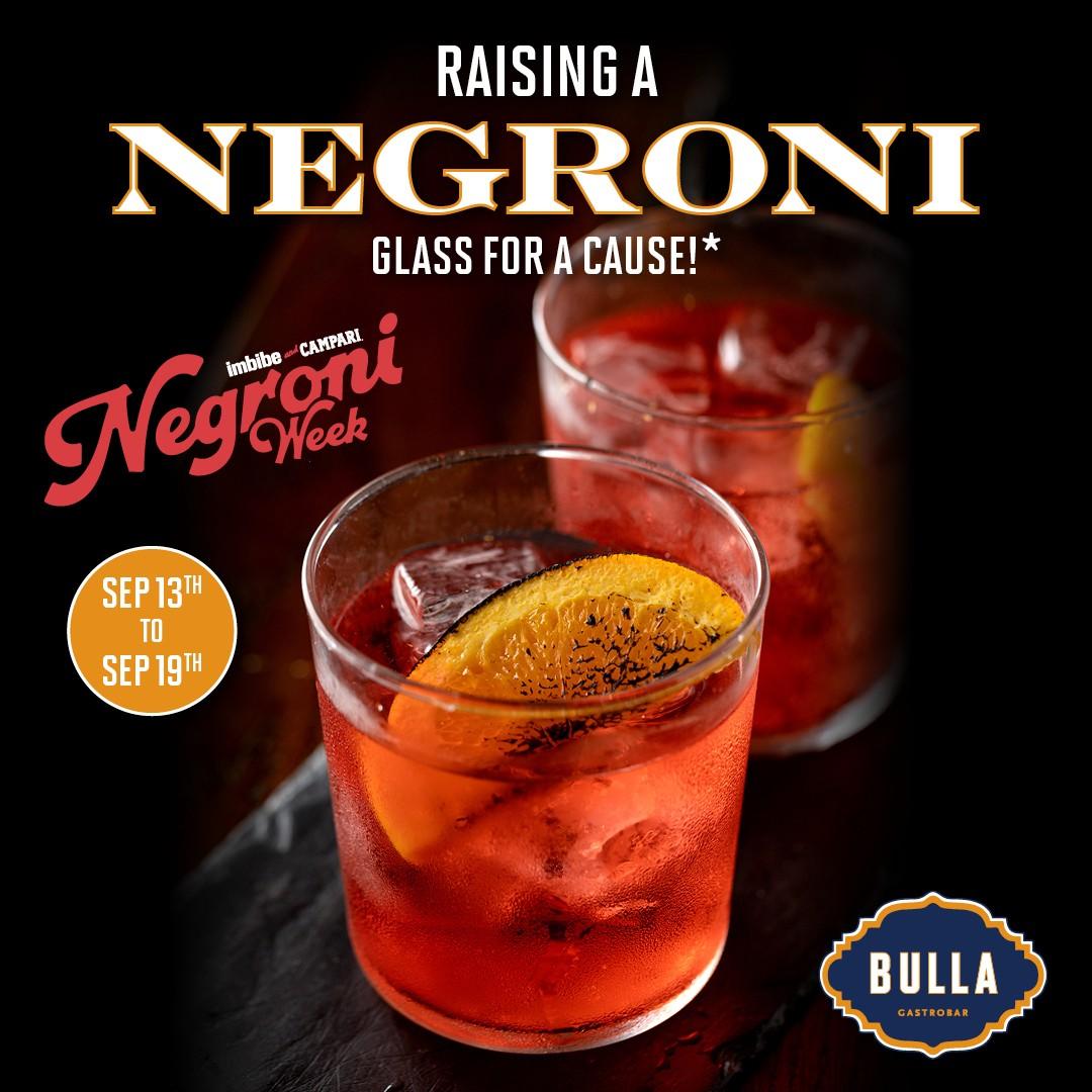 Bulla Negroni Week Promo